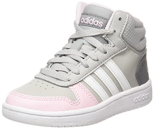 adidas Hoops Mid 2.0, Basketball Shoe, Mehrfarbig Gridos Ftwbla Roscla, 39 1/3 EU