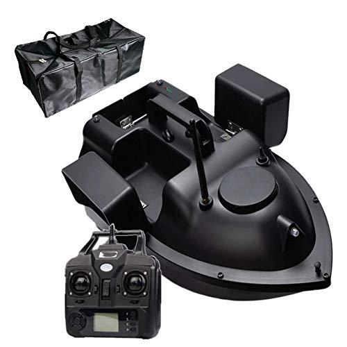 HXSD Alimentador De Pesca De Barco De Cebo De Pesca con Control Remoto Inalámbrico GPS 500M, Barco De Velocidad RC Inteligente De Carga De 2KG con Bolsa De Transporte Gratis (12000mAh)