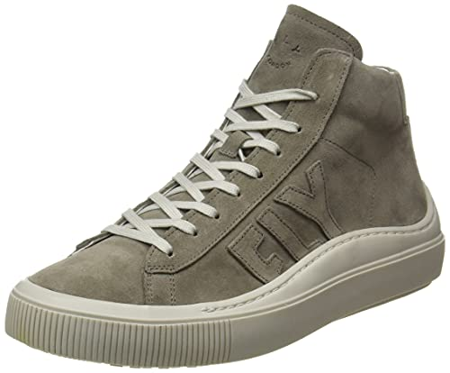 Fly London SEKA456FLY, Zapatillas Hombre, Color Gris Claro, 44 EU
