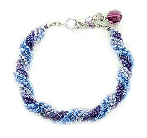 Miyuki Bracelet kit Spirale Chevrons/Bracelet