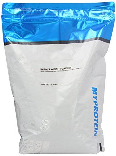 MyProtein 2500g Vanilla Impact Weight Gainer Blend