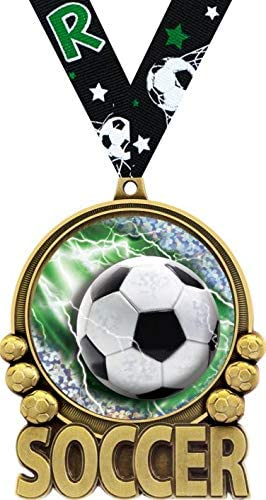 Crown Awards Soccer Medal - Action Medals Double Manufacturer OFFicial shop Ranking TOP14 2.0 3
