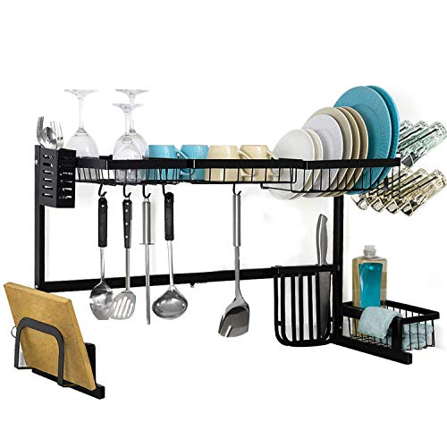 Over Sink Dish Drying Rack for Counter,HEOMU Length...