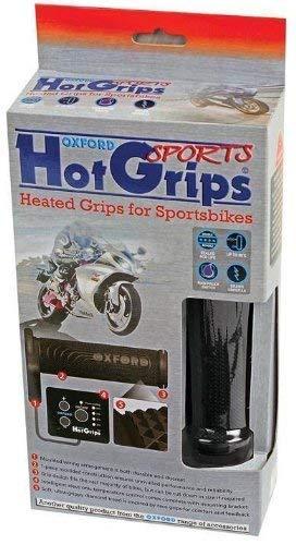 Oxford Motorrad Motor Bike Motorrad sportlich beheizt Grips HotGrips warmweiß