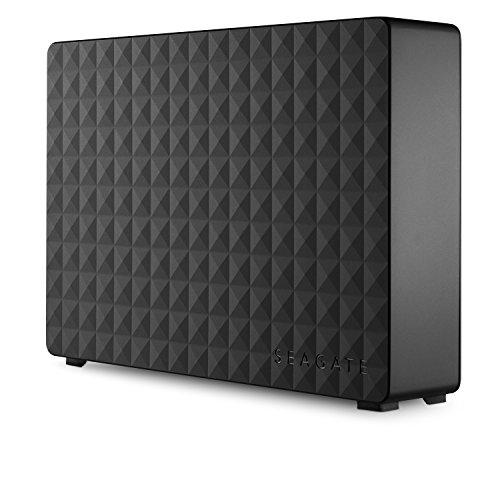 Seagate Expansion Desktop 10 TB USB 3.0 External Hard Drive, schwarz