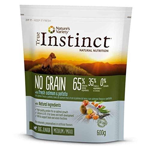 True Instinct - Pienso para Perros Adultos medianos y Grandes no Grain salmón ⭐