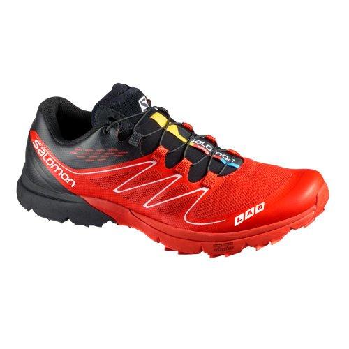 quality design 4a12a cda13 Salomon 2013 S-Lab Sense Ultra Trail Running Shoe (Racing RedBlackWhite -  5)