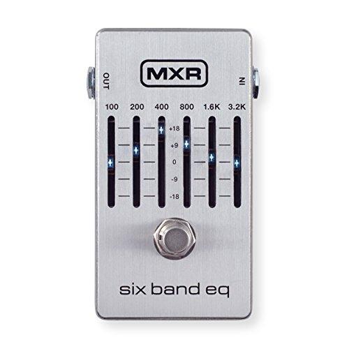MXR M109S Six Band EQ Guitar Effects Pedal