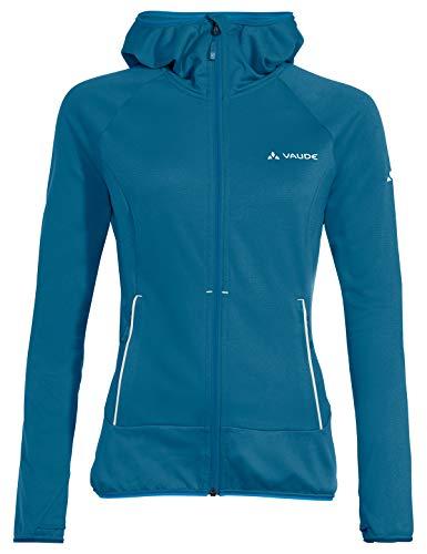 VAUDE Damen Jacke Women's Tekoa Fleece Jacket II, Kingfisher, 36, 42300