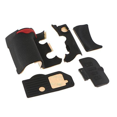 Homyl 5 unidades de enchufe USB de goma cubierta trasera lateral unidad de repuesto para Nikon D300 cámara digital