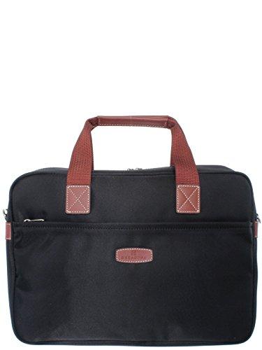 Hexagona–Bolso Hexagona ordenador Ref _ xga35379-noir-marron