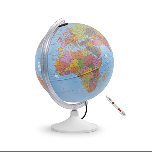 Parlamondo: Interaktiver Globus mit TING(TM)-Stift (Interaktiver Globus mit Hörstift)