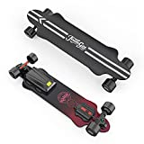Teamgee H20 39' Electric Skateboard with Remote Long Boards Skateboard Designed for Teens and Adults, 26PMH Top Speed, Hub...