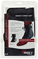 Swede-O Ankle Lok X-Large with Stabilizers Black (並行輸入品)