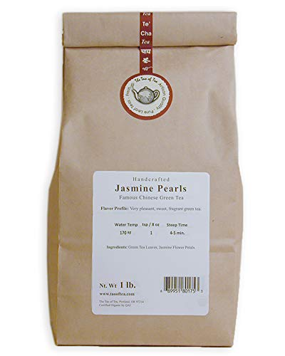 The Tao of Tea Jasmine Pearls, 1-Pounds, 16.0 Ounce (Pack of 1)