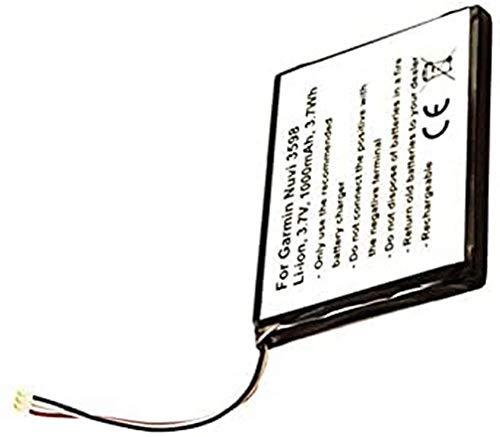 Akku nur passend für den Garmin 361-00070-00 Akku Garmin 3597LMT, Nuvi 3597, Nüvi 3597, Nuvi 3597LMTHD, Nüvi 3597LMTHD, Nuvi 3598, Nüvi 3598, Nuvi 3598LMT, Nüvi 3598LMT, Nuvi 3598LMT-D, Nüvi 3598LMT-D