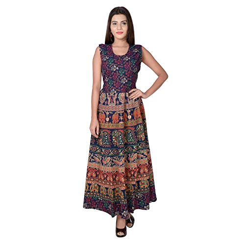 Fashion Dziner Women Cotton Nighty, Gown, Sleepwear, Nightwear, Maxi - Soft Night Suit, Cotton