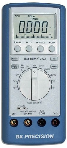 Best Deals! B&K PRECISION 390A MULTIMETER DIGITAL HANDHELD, 3-3/4 DIGIT