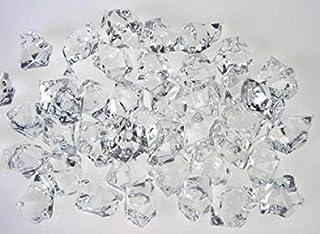 Dark Blue SDBING Acrylic Crystal Ice Rock for Aquarium Vase Gems,Table Decorating Idea