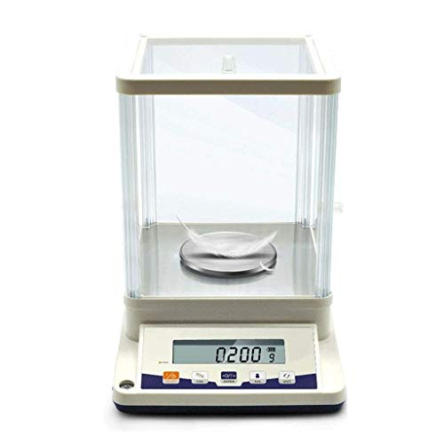 XLAHD 0.001g Precision Balance Instrument Laboratory Pharmacy Jewelry Analytical Scale Electronic Scales Count Tare Function Accurate To 1mg (610g/0.01g) Compact Storage, Easy Clean