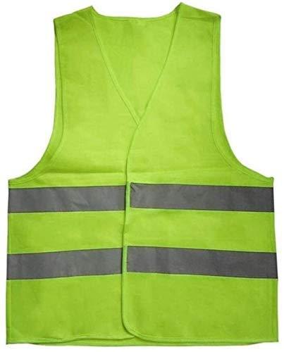 Multifuncional ropa reflectante chaleco reflectante de seguridad chaleco azul Naranja Amarillo Color Verde Fluorescente reflexivo al aire libre Ropa de seguridad Ejecución Ventilar seguridad de alta v