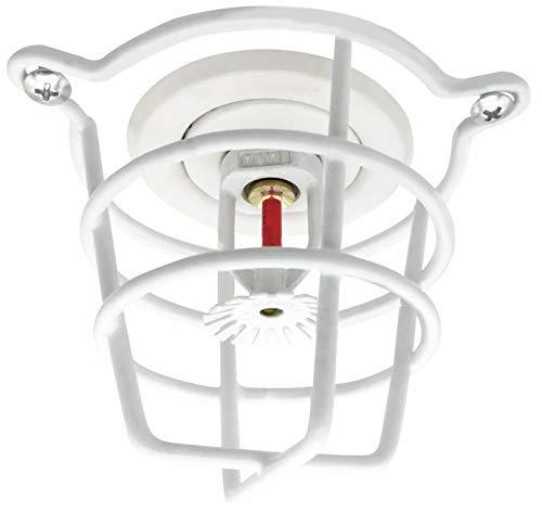 Happy Tree Kopfschutz für Feuer-Sprinkler, Weiß, für 1,27 cm und 1,9 cm Feuerkopf zum Schutz von Unterputzmontage und Seitenwand und Anhängerkopf
