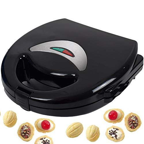 Syntrox Germany Chef Maker NM-750W Nut Nuss-Wunder Nussbäcker Waffeleisen