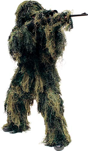 Red Rock Outdoor Gear - Ghillie Suit, X-Large/XX-Large, Woodland