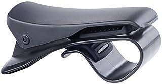 Lescars Kfz Handy Halter: Universelle Smartphone Clip Halterung fürs Armaturenbrett, bis 9 cm (Handy Autohalterung)