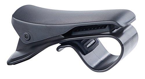 Lescars Kfz Smartphone Halterung: Universelle Smartphone-Clip-Halterung fürs Armaturenbrett, bis 9 cm (Navigationshalterung)