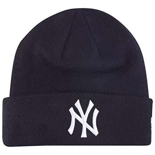 New Era MLB Essential Cuff Knit Neyyan OTC Cappello, Unisex Adulto, Navy, Taglia Unica