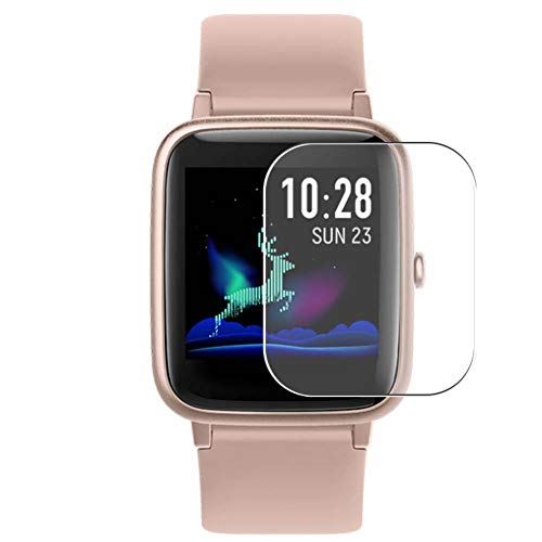 """Puccy 3 Pack Screen Protector Film, compatible with Vigorun Letsfit Fitpolo ID205L 1.3"""" Smartwatch Smart Watch TPU Guard ( Not Tempered Glass Protectors )"""