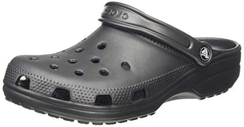 crocs Unisex-Erwachsene Classic Clogs, Grau (Graphite), 41/42 EU
