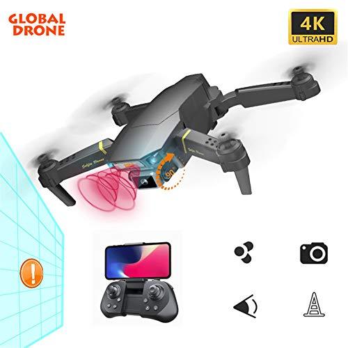 HUAXM Drone avec caméra pour Adultes, Drone Caméra 4K, 2.4G WiFi FPV, 250m FPV Distance, Drone Long Temps de vol, 15 Minutes, Drone Pliable