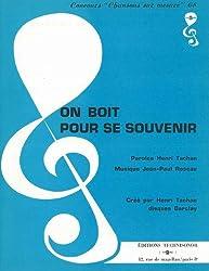 ON BOIT POUR SE SOUVENIR