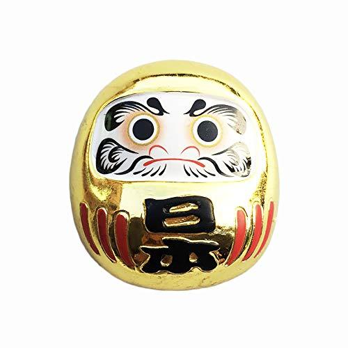 Daruma Vaso Japón 3D Souvenir Imán para nevera, regalo de resina, hecho a mano, decoración para el hogar y la cocina, imán japonés para nevera, colección magnética