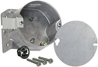 Hubbell-Raco 294 2-1/8-Inch Deep, 1/2-Inch Side Knockouts, Wood Joist Bracket 4-Inch Octagon Ceiling Fan Support Box