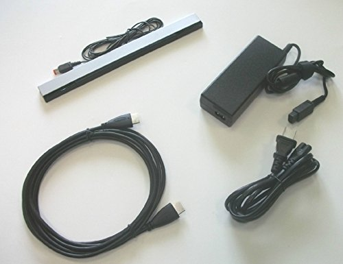 Video Game Accessories USA: New Wii U Complete Hookup Connection HDMI AV Cable Power Cord Sensor Bar