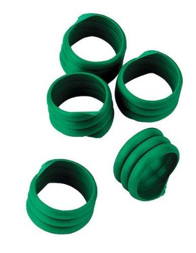 Spiralring,16mm,grün, Kunstst. zu 20 St. im Pack