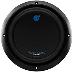 Planet Audio AC8D 8 Inch Car Subwoofer - 1200 Watts Maximum Power