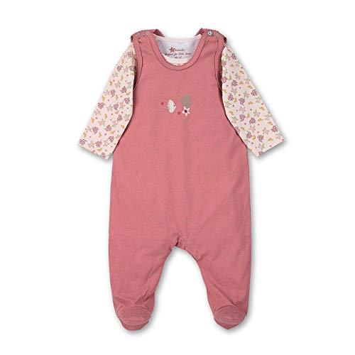 Sterntaler Mädchen Strampler-Set, Strampler und Body, Alter: 0-3 Monate, Größe: 50, Rosa