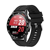 YoYoFit Smart Watch with Blood Pressure, 1.4' Touch Screen Fitness Tracker with Heart Rate and Blood Oxygen, Waterproof Fitness Smartwatch with Step Counter, Sleep Monitor for Men and Women Gift