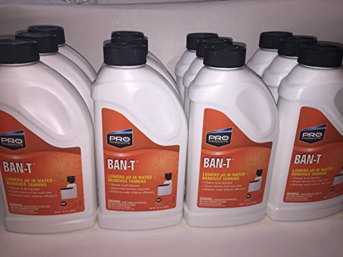 Case of 12 Pro Product Ban-T BanT Ban T Citric Acid Water Softener Iron Removal Alkaline Neutralizer Cleaner 1.5 lb Bottle