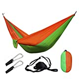 Pu-ai Camping portátil Hamaca Supervivencia Jardín Muebles de Exterior Ocio Durmiendo (Color : 28)