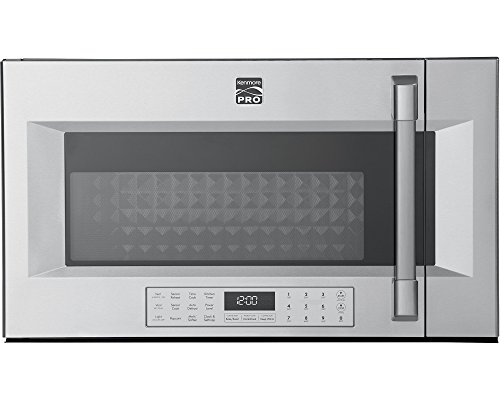 Kenmore PRO 89393 1.8 cu. ft. Over-the-Range Convection Microwave in Stainless Steel