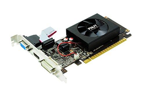 Palit NVIDIA GT610 GeForce Grafikkarte(PCI-e, 2TB GDDR3 Speicher, VGA, DVI, HDMI 1 GPU)