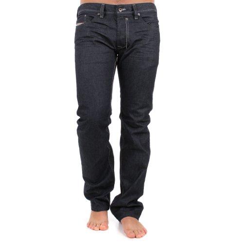 Diesel Safado 008Z8 8Z8 Herren Jeans Hose Regular Slim Straight Blau Dunkelblau (W28/L32)