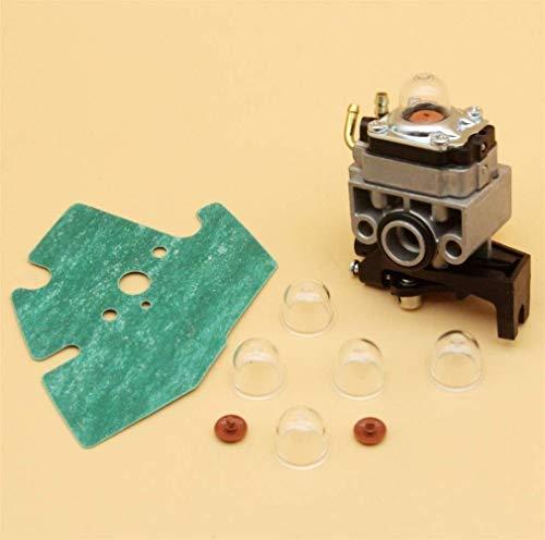 HaoYueDa Kit de Bombilla de imprimación de válvula de retención de carburador Compatible con Honda GX25 GX25N GX25NT GX25T FG110 FG110K1 HHT25S 16100-Z0H-825 Cortacésped desbrozadora