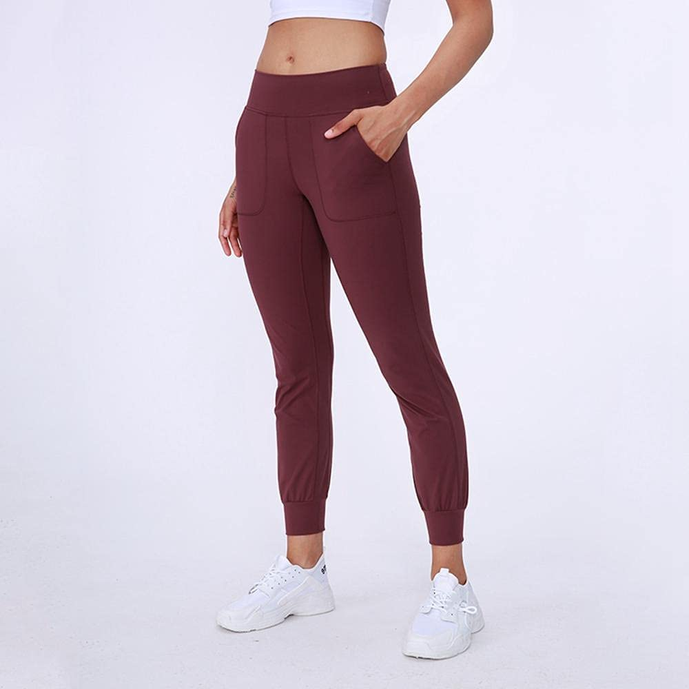 Yoga 100% quality warranty! Max 70% OFF Pants Nylon Ladies' Soft L Waist High Drawstring Elasticity