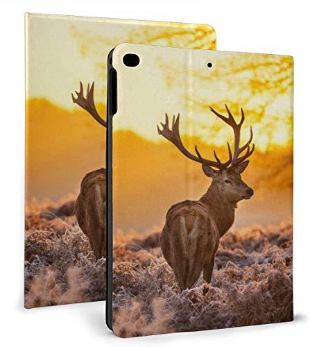 Wild Sun PU Leather Smart Case Función Auto Sleep / Wake para iPad Air 1/2 9.7 'Funda